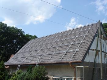 Photovoltaik Anlage in Löhne Bild 1